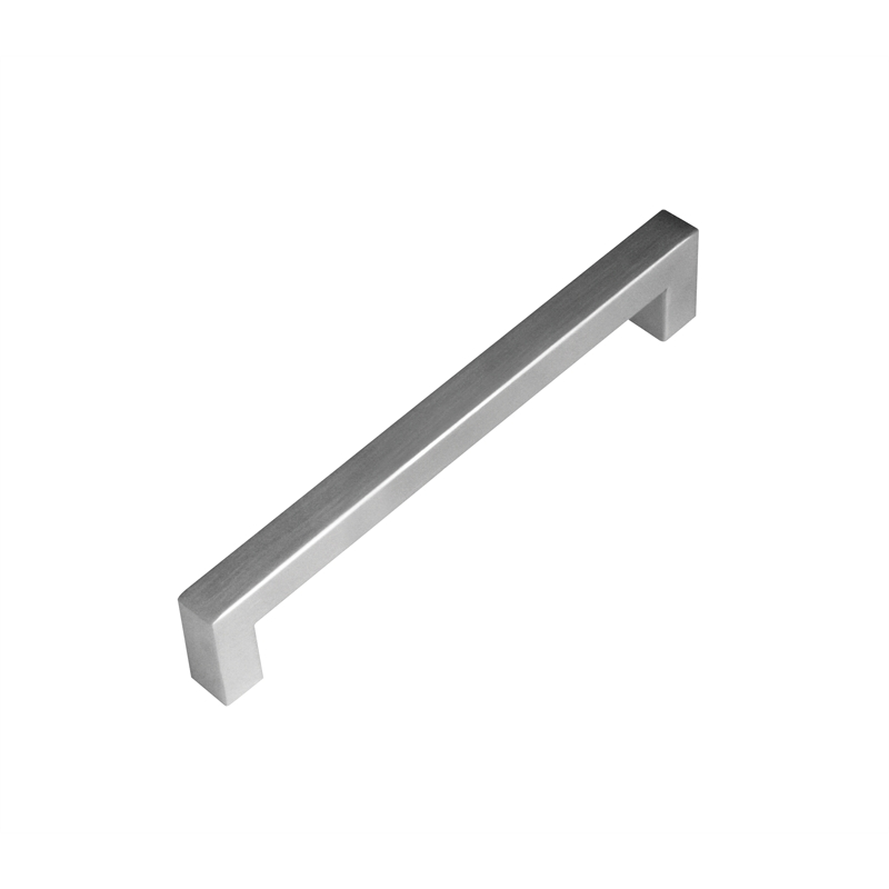kaboodle 128mm brushed stainless steel bar kitchen door handle