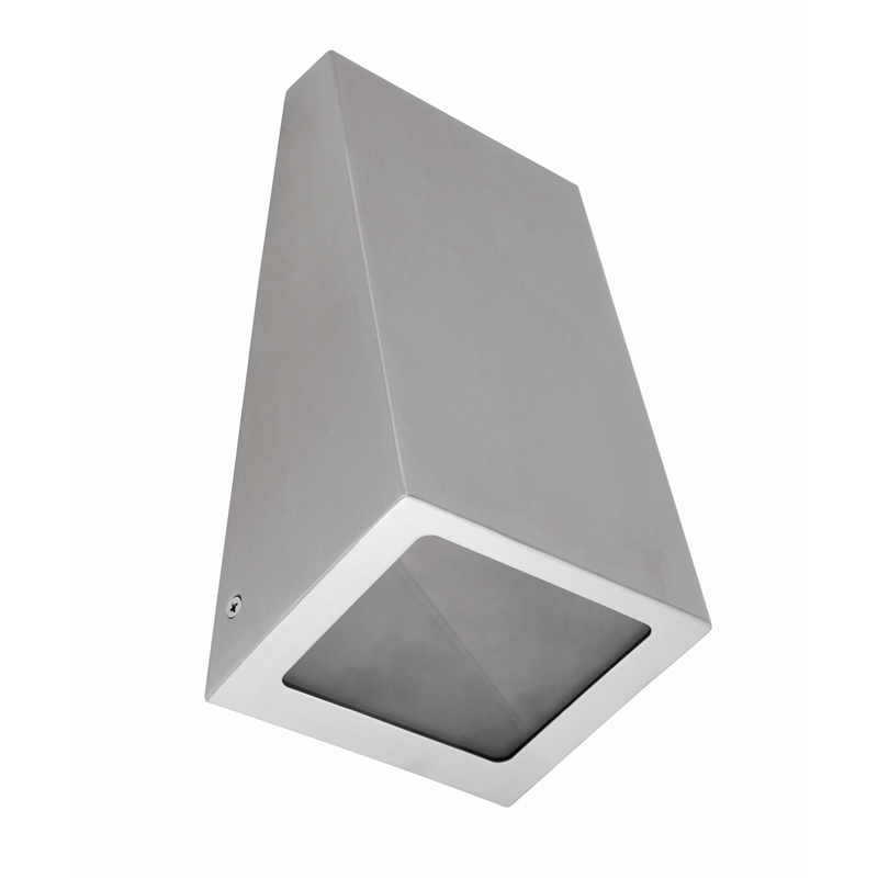 Wedge Exterior Wall Lights : Brilliant 9W Olsan Twin Pack Wedge Exterior Wall Lights Bunnings Warehouse