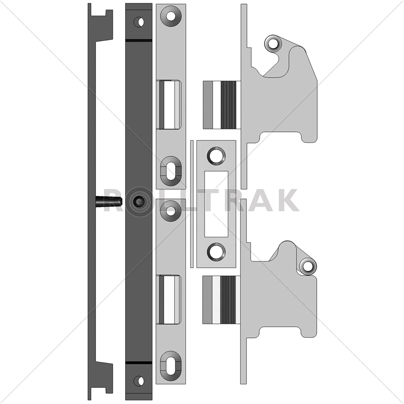 Sliding Door/window Spares Triple Lock Whitco Mk2 I/N ...