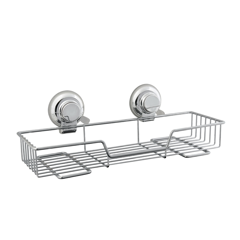 Naleon Clic Chrome Suction Large Wire Shelf Bunnings Warehouse