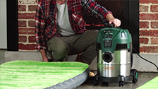 About Gerni Wet And Dry Vac Blow Function
