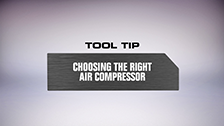 Ozito Air Compressor Tool Tips
