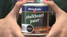 About White Knight 250ml Black Chalkboard Paint
