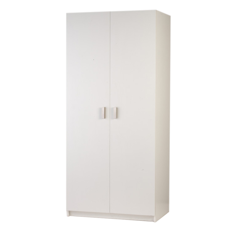 Bedford 900mm White 2 Door Wardrobe Bunnings Warehouse