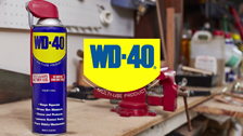 How do I protect my items with WD-40?