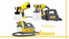 About Wagner FineSpray Paint Sprayer