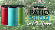 About Thermacell Blue Mini Halo Insect Repeller