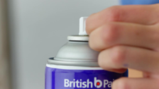 British Paints How to Transform a Retro Fan