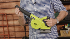 About Ryobi One+ 18V Workshop Blower