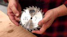 About Ozito Power X Change 150mm 18 Tooth Circular Saw Blade