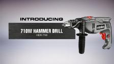 About Ozito 13mm 710W Hammer Drill