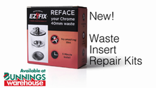 About EZYFix Waste Insert Repair Kits