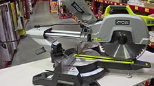 About The Ryobi 2000W 254mm Slide Compound Mitre Saw With Laser