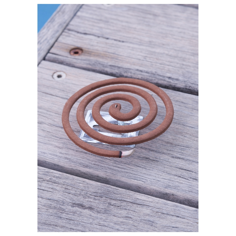 Waxworks Citronella And Sandalwood Mosquito Repellent Coil -10 Pack