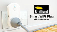 About Brilliant Smart Wifi Plug and USB Charger