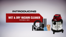 About Ozito Power X Change 18V Wet and Dry Vacuum Cleaner