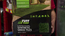 About Tuff Turf Synthetic Turf Grass Tiles