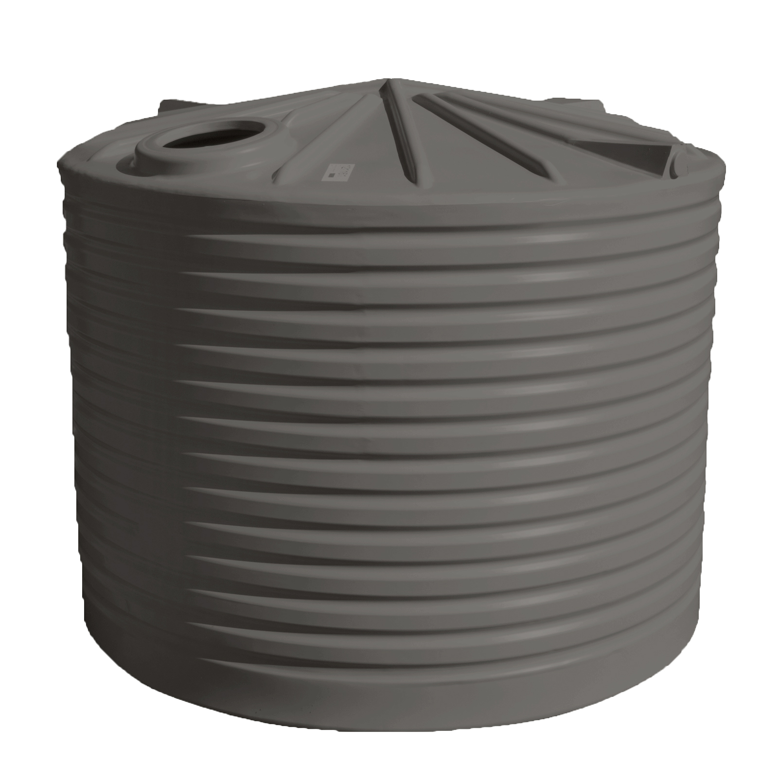 Clark Tanks 10000L Round Poly Water Tank - Inlet