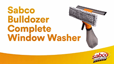 Bulldozer Complete Window Washer