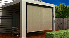 About Coolaroo's Premium Pelmet Exterior Blind with Handcrank