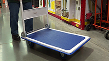 About Saxon 300kg Folding Platform Trolley