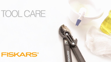 About Fiskars Cutting Tools Cleaning and Maintenance