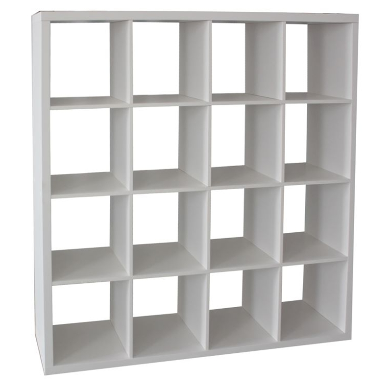 Flexi Storage Clever Cube 146 x 39 x 146cm 4 x 4 Unit - White