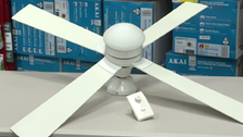 About Arlec 120cm White 4 Blade Ceiling Fans