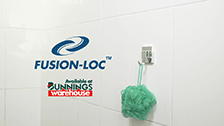 About Fusion-Loc 13kg Single Hook Chrome Suction Bathroom Accessory