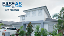 Installing EasyAS Adjustable Shutters