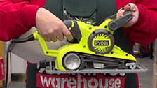 About Ryobi 800W Variable Speed Belt Sander