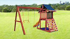 About Swing Slide Climb Flinders Playset