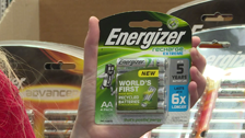 About Energizer AA Recharge Batteries - 4 Pack