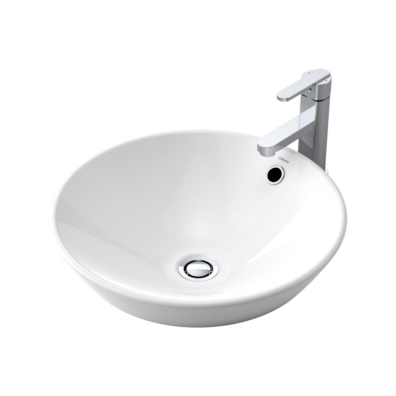 Tapware not included. Caroma Leda Vasque Vanity Basin   Bunnings Warehouse