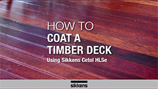 How To Coat a Timber Deck - HSLe