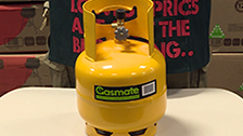 About Gasmate 2kg Camping LPG Gas Cylinder