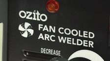 About Ozito 140Amp Fan Cooled Arc Welders