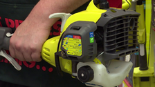 About The Ryobi Curved Shaft Line Trimmer