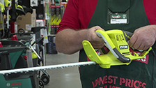 About Ryobi 500W 450mm Electric Hedge Trimmer