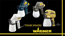 About Wagner's Power Sprayers