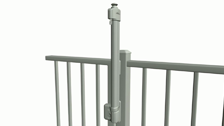 MagnaLatch Pool Latch and Hinge Gate Kit Installation