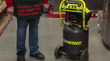 About Ryobi Airwave 40L 1.8HP Air Compressors