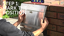 How To Install A Wall-Mounted Letterbox