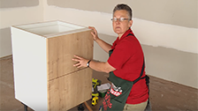 How to Attach a Two Drawer Panel