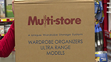 About Multi-store  4 Shelf Wardrobe Insert