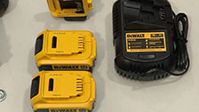 About The DeWalt 18V 3 Piece Cordless Combo Kit