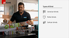 About Indoor blind selection - Venetian, Roller and Cellular Indoor Blinds