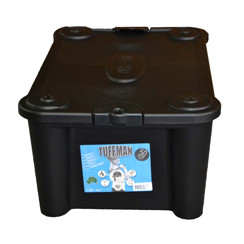 Bear resistant Food Storage Container Black Plastic Storage Boxes
