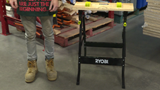 About Ryobi Foldable Workbench With Adjustable Angle