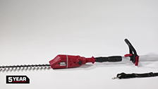 About Ozito 18V Pole Hedge Trimmer
